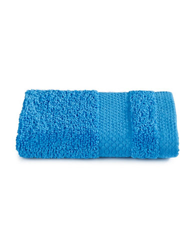 Dh Plush Textured Washcloth-BRILLIANT BLUE-Washcloth