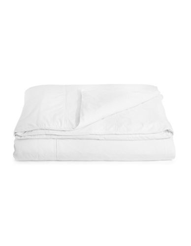 Glucksteinhome Essex Duvet Cover-WHITE-King