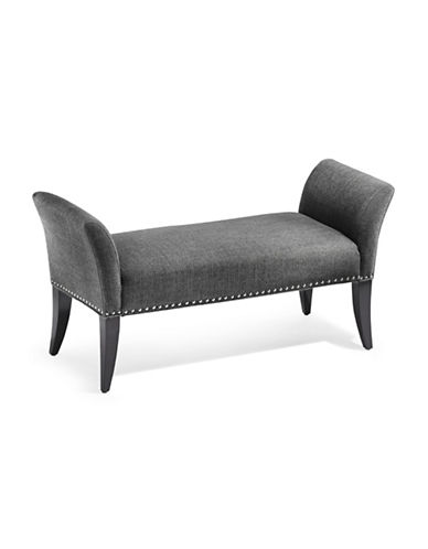 Home Studio Sultry Bench-GREY-One Size