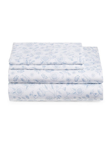 Distinctly Home 300 Thread-Count Cotton Sheet Set-NAVY-Twin