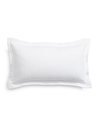 Glucksteinhome Classic White Cushion-WHITE-12x20