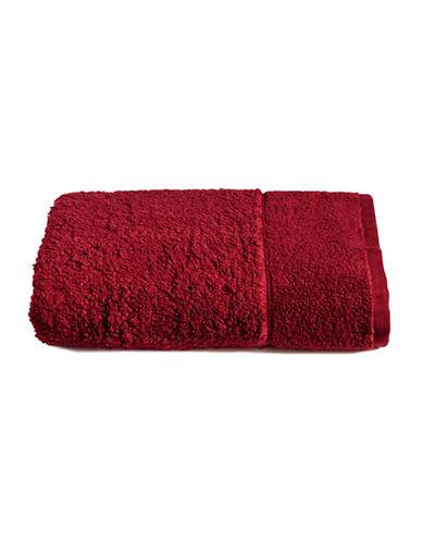 Distinctly Home Shaggy MicroCotton Bath Towel-RED-Bath Towel