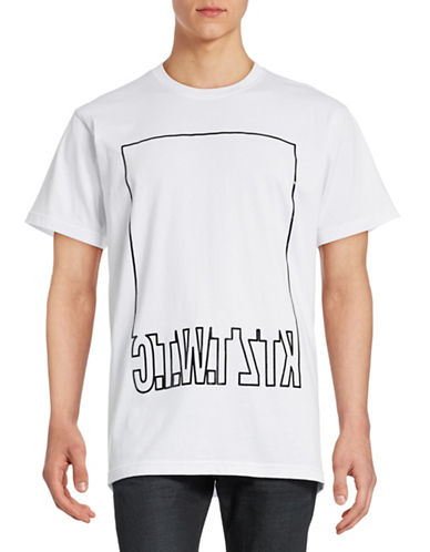 Ktz Mirrored Logo Box T-Shirt-WHITE-Small 88384150_WHITE_Small