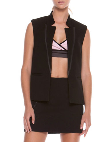 Co + Co Claudette Scuba Vest-BLACK-2