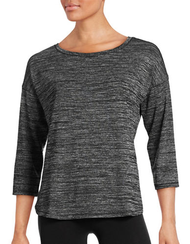 Lord & Taylor Boat Neck Top-BLACK-Medium 88411921_BLACK_Medium