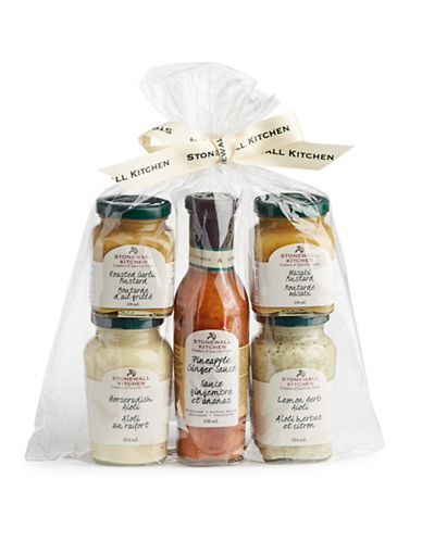 Stonewall Kitchen Five-Piece Seafood Condiment Collection-ASSORTED-One Size