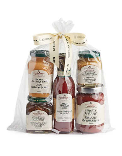 Stonewall Kitchen Five-Piece Condiment Sampler-ASSORTED-One Size