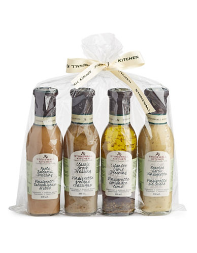 Stonewall Kitchen Four-Piece Dressing Up Your Greens Collection-ASSORTED-One Size