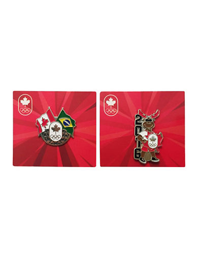 Team Canada Collection Lapel Pins-MULTI-One Size