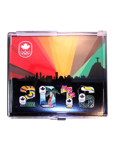 Team Canada Collection Olympic Games Lapel Pins-MULTI-One Size