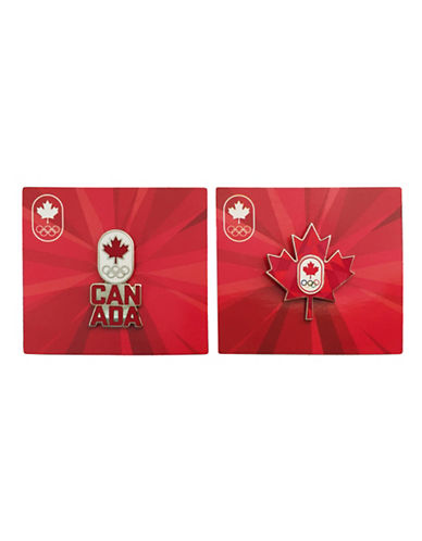 Team Canada Collection Olympic Games Canada Lapel Pins-MULTI-One Size