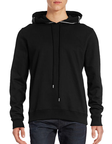 Markus Lupfer Harry Chain Embellished Hoodie-BLACK-Small 88504669_BLACK_Small