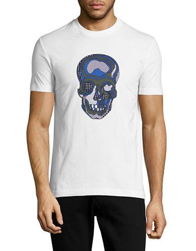 Markus Lupfer Patchwork Skull T-Shirt-WHITE-Large 88504678_WHITE_Large