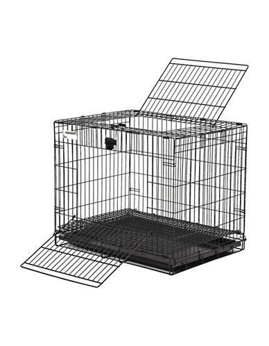 Midwest Home For Pets Midwest Wabbitat Cage 25-Inch-BLACK-One Size