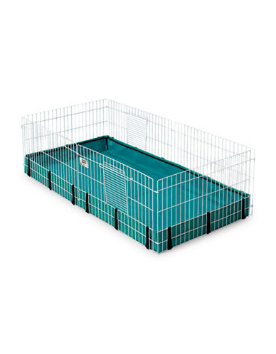Midwest Home For Pets Midwest Guinea Habitat-BLUE-One Size
