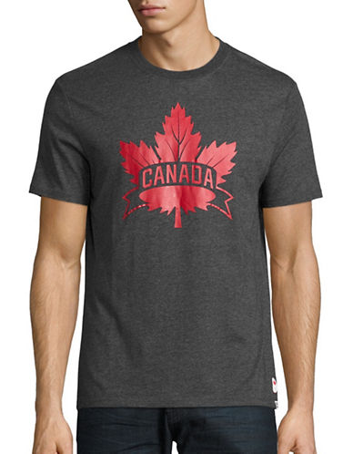 Canadian Olympic Team Collection Mens Core Maple Leaf T-Shirt-CHARCOAL-X-Large 88622652_CHARCOAL_X-Large