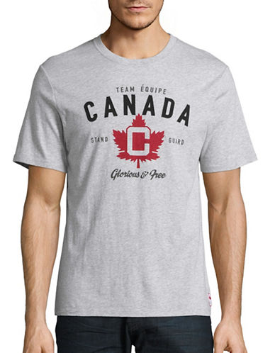 Canadian Olympic Team Collection Mens Team Equipe T-Shirt-GREY-X-Large 88624741_GREY_X-Large