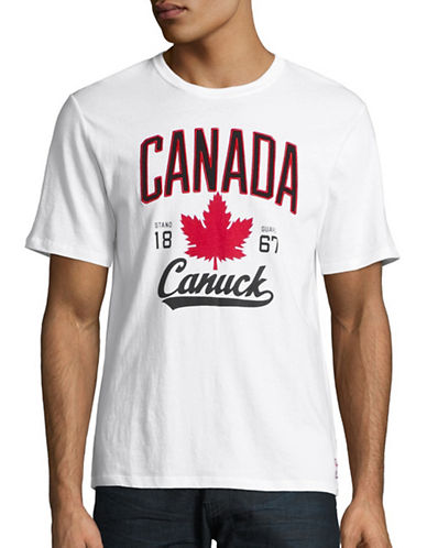 Canadian Olympic Team Collection Mens Canuck T-Shirt-WHITE-Medium 88624776_WHITE_Medium