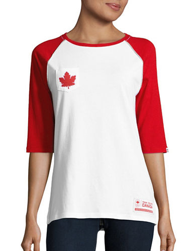 Canadian Olympic Team Collection Womens Team Canada True North T-Shirt-WHITE-X-Small 88626962_WHITE_X-Small