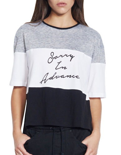Nana Judy Sorry In Advance Tee-GREY-Large 88644661_GREY_Large