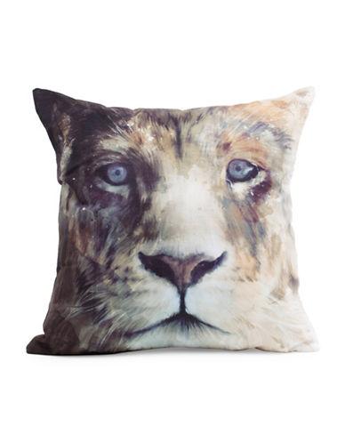 Nema Home Lion Cushion-MULTI-18x18