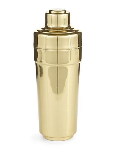 Glucksteinhome Oscar Cocktail Shaker-GOLD-One Size