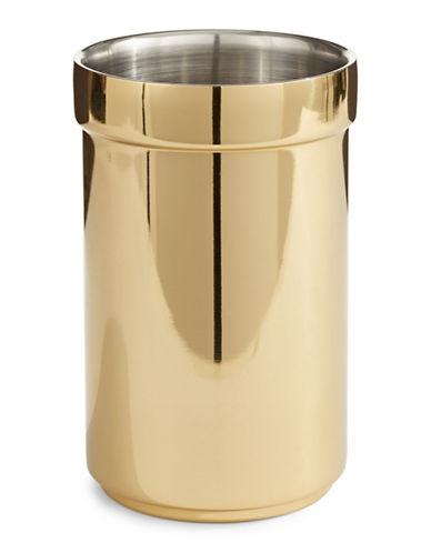 Glucksteinhome Oscar Gold Wine Cooler-GOLD-One Size