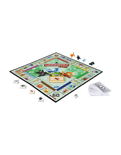 Hasbro Monopoly Junior Game-MULTI-One Size