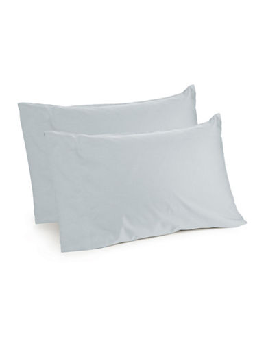 Distinctly Home Spectrum 520 Thread-Count Two-Piece Pillowcase Set-LIGHT BLUE-Standard