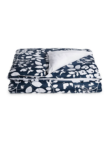 Distinctly Home Shelby 400 Thread-Count Cotton Duvet Cover-BLUE-Queen