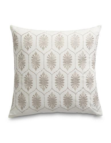 Glucksteinhome Marais Embroidered Cushion-WHITE-16X16