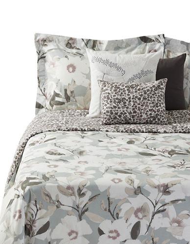 Distinctly Home Romantic Blooms Six-Piece Duvet Cover Set-BLUE MULTI-King