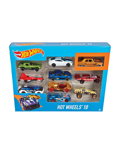 Hot Wheels Hot Wheels 10-Car Pack-MULTI-One Size