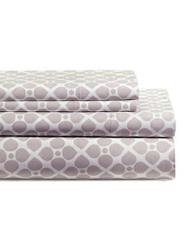 Distinctly Home 200TC Four-Piece Emerson Petals Sheet Set-LILAC-Twin