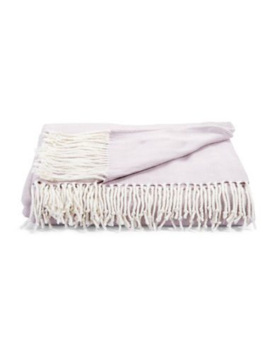 Distinctly Home Soft Touch Throw-PURPLE-One Size