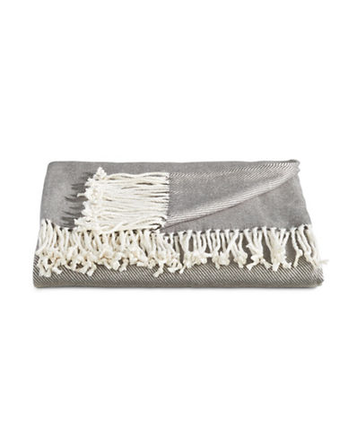 Distinctly Home Soft Touch Throw-GREY-One Size