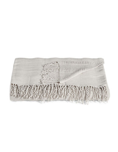 Distinctly Home Ripple Throw-LIGHT GREY-One Size