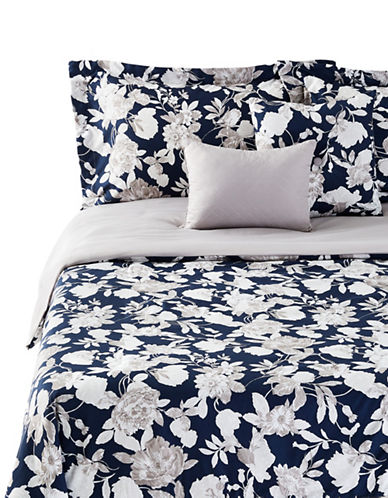 Marseilles Grace Five-Piece Comforter Set-BLUE-Twin