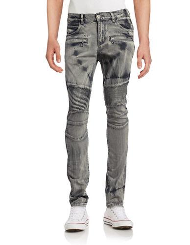 Embellish Emily Dyed Biker Jeans-GREY-28 88699168_GREY_28