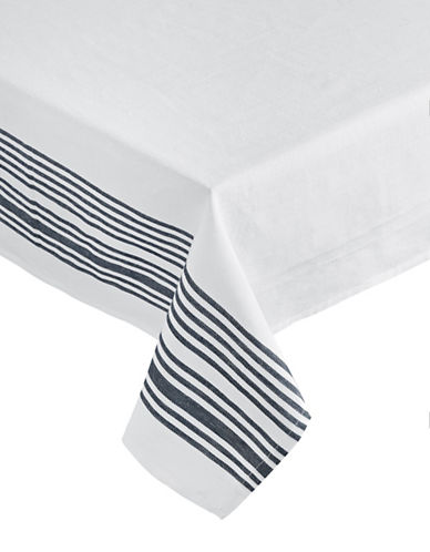 Glucksteinhome Lyon Striped Tablecloth 60 x 120-BLUE-60x120