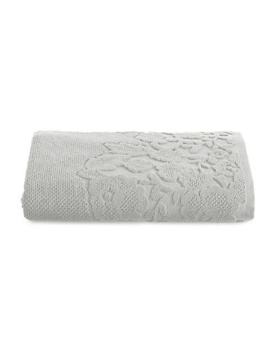 Distinctly Home Botanical Turkish Cotton Hand Towel-GREY-Hand Towel
