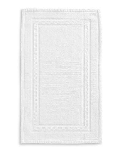 Glucksteinhome Hand-Woven Bath Mat-BRIGHT WHITE-21x34