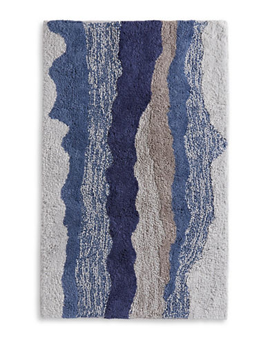 Distinctly Home Landscape Bath Rug-BLUE-21x34
