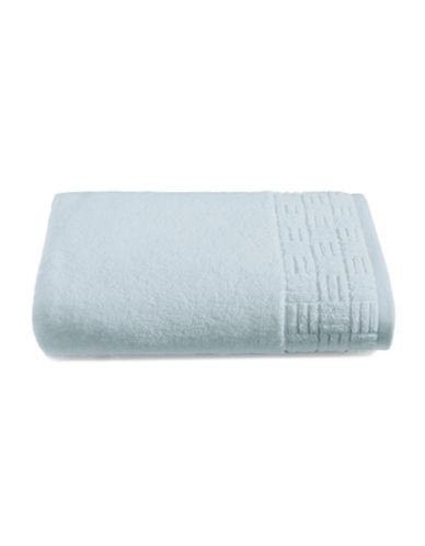 Glucksteinhome Indulgence Turkish Cotton Bath Towel-SILVER-Bath Towel