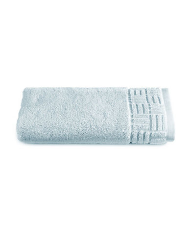 Glucksteinhome Indulgence Turkish Cotton Hand Towel-SILVER-Hand Towel