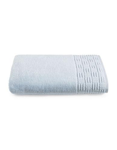 Glucksteinhome Indulgence Turkish Cotton Bath Sheet-SILVER-Bath Sheet