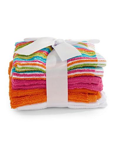 Dh Vibe Eight-Piece Cotton Washcloth Set-MULTI-Washcloth