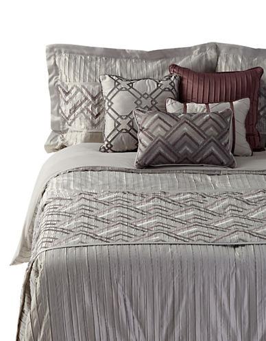 Home Studio Getty Seven-Piece Comforter Set-GREY-Queen