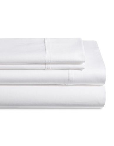 Distinctly Home 250 Thread Count Four-Piece Sheet Set-WHITE-Twin