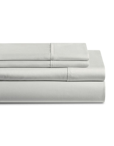 Distinctly Home 250 Thread Count Four-Piece Sheet Set-GREY-Double
